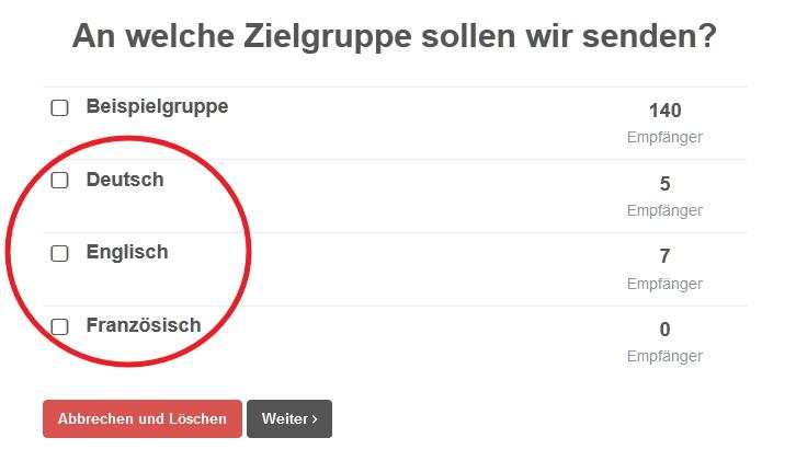 Sprachverwaltung In Cleverreach Cleverreach Support