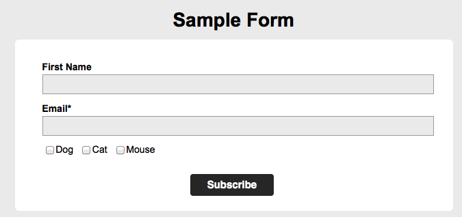 Segmentation after registration through form – CleverReach Support